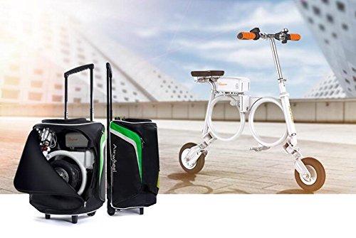 Run & Roll Bike 00 Bicicleta eléctrica Plegable, Hombre, Blanco, 8'