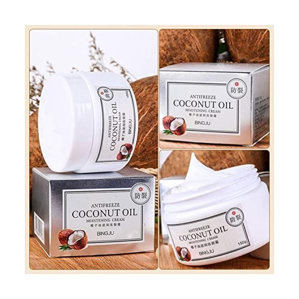 Candyboom Hielo Crisantemo Aceite de Coco Crema hidratante congelada Crujido Corporal Crema hidratante anticongelante Productos para el Cuidado de la Piel.