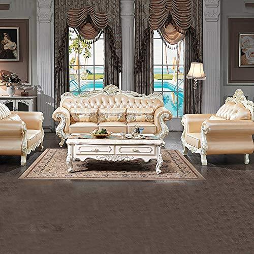 Wsn divano angolare,divano moderno reclinabile trasformabile in futon in ecopelle con/gambe in metallo