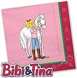 20 Servietten * BIBI & TINA * für Kinderparty und Kindergeburtstag von DH-Konzept // Blocksberg Napkins Papierservietten Party Set