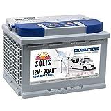 AGM Solarbatterie 70AH Boots Wohnmobil Solar Versorgungs Batterie