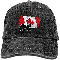 Gleader Gorra Visera para Deporte Golf Tenis - Rojo. COMPRAR. Más  Información. Yuting Gorras béisbol Canada Maple Bear Denim Hat Adjustable  Female Baseball ... 4460244e416