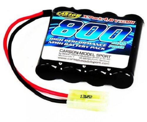 Preisvergleich Produktbild Carson 500608114 - Akku Pack, 4.8 V / 800 mAh NiMH Mini Tamiya