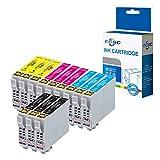 Ceca Compatible Cartuchos de tinta de repuesto para EPSON XP-102XP-202XP-205XP-212XP-215XP-225XP-30XP-302XP-305XP-312XP-315XP-322XP-325XP-402XP-405XP-405WH XP-412XP-415(BK/C/M/Y, 12unidades)