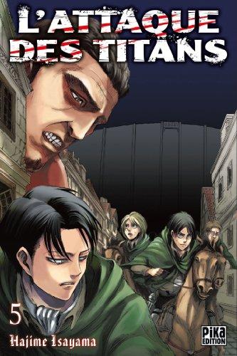 Attaque Des Titans (l') Vol.5 par ISAYAMA Hajime