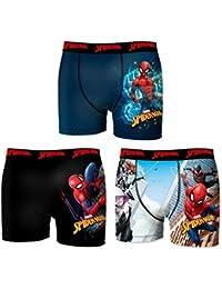 Marvel Boxer, Shorts para Niños (Pack de 3)