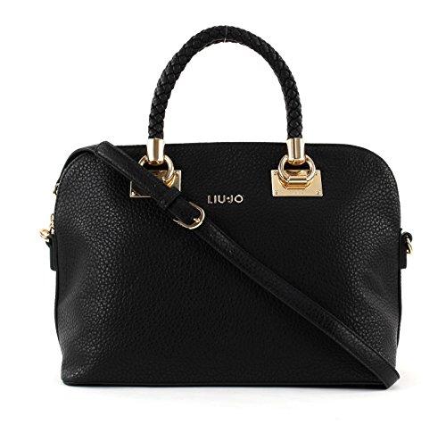 ANNA N66082E0011 BAG SHOPPING LIU JO BAG SHOPPING ANNA LIU Nero N66082E0011 JO xqqO7gB