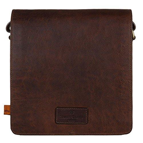 Simon Carter Holkham Homme Shoulder Bag Fauve