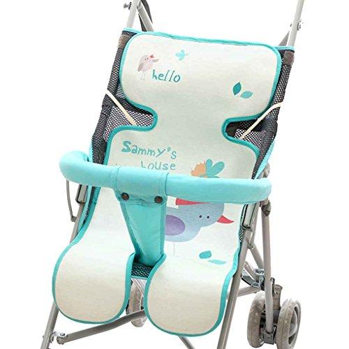 Cojín del asiento del cochecito del recién nacido Cojines del verano Colchón de la estera Cojín del bebé del bebé transpirable Seda del hielo fresca Cojín del niño Republe