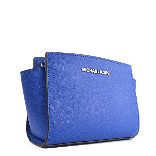 MICHAEL by Michael Kors Selma Mini Electric Bleu Sac Bandouliere Electric Bleu