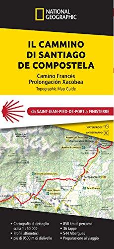 Il cammino di Santiago de Compostela da Saint-Pied-de-Port a Finisterre