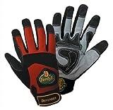 FerdyF Clarino®-Kunstleder Montagehandschuh Größe (Handschuhe): 10, XL EN 388 Cat II Mechanics D
