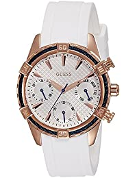 Guess Analog White Dial Women's Watch - W0562L1