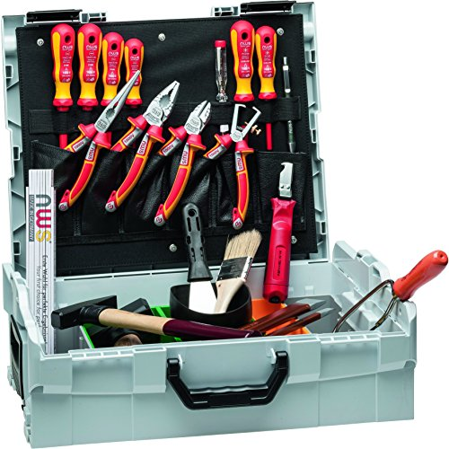 NWS 327-23 Elektriker-Werkzeugkoffer Sortimo L-BOXX, 23-tlg