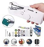 Aoweika Handheld Nähmaschine Tragbar Mini Schnurlose Elektrische...