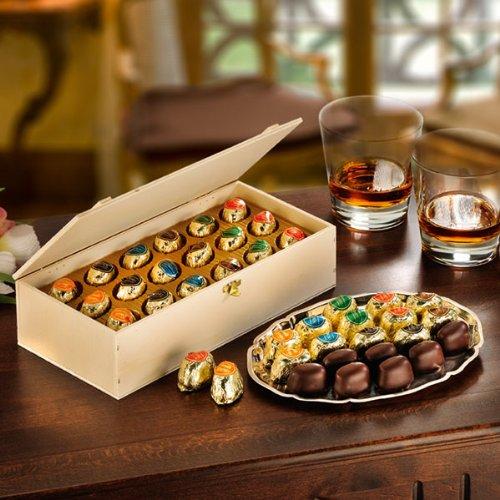 Likör-Pralinen (500g) Cognac, Whisky, Curacao und andere edle Spirituosen in Zuckerkruste mit...