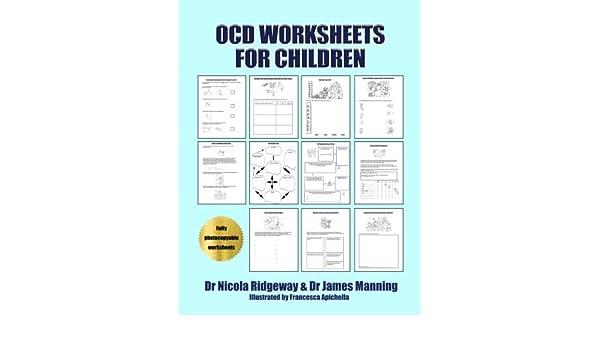 OCD Worksheets for Children: A CBT Worksheets book for CBT