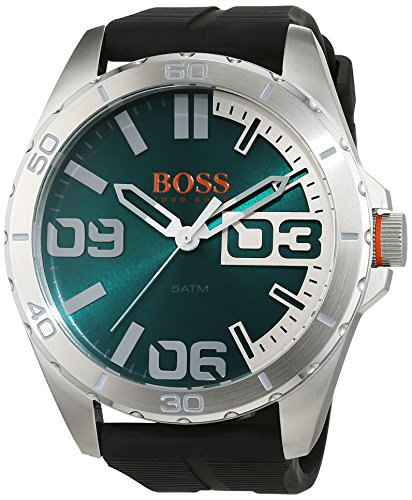 Boss Orange de Hombre Reloj de Pulsera Berlin analógico de Cuarzo Silicona 1513381