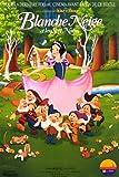Blancanieves y los siete enanitos 28 cm x 43 cm póster de película francesa (aprox.)