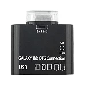5 in 1 Card Reader Connection Kit pour Samsung Galaxy Tablet Tab P7500 P7510 SD