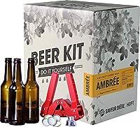 Ce Kit contient tous les ustensiles du brasseur nécessaire à la réalisation de cette bière Ambrée, à savoir : - 1 manuel de brassage de 12 pages avec les instructions complètes - 1 fourquet (spatule) - 1 dame-jeanne en verre de 5L - 1 bouchon en caou...