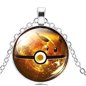 Inception Pro Infinite Pkmn2 – Pokemon Go-Halskette Poke 'Pokeball Ball (Gelb)