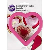 Non-Food Items Cortadores de agarre cómodo LRG Heart, Corazón grande, talla única