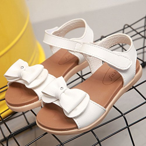 Zhhlaixing Baby Sandals First Walking Shoes Baby Toddler Shoes Prewalker Shoes White