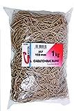 SIGN 02282M7 Bracelet élastique blond en sachet de 1 kg 150 mm