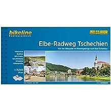 Elbe-Radweg Tschechien: Von der Elbquelle im Riesengebirge nach Bad Schandau, 380 km. Radtourenbuch 1 : 75.000, wetterfest/reißfest, GPS-Tracks Download