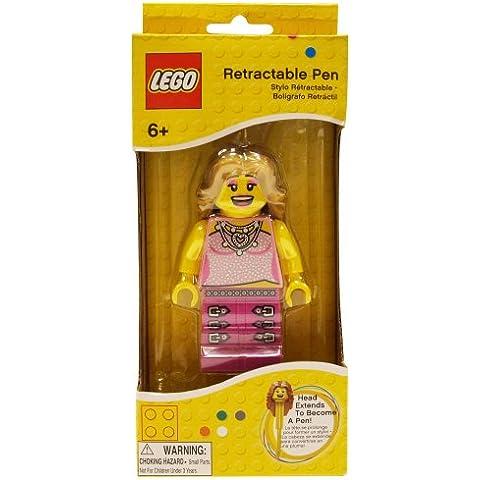 Lego - Omino con penna estraibile, soggetto: Donna cantante