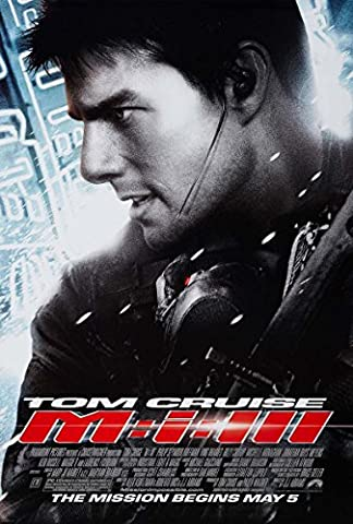 Mission: Impossible Iii (Tom Cruise) Original Movie Poster - Double