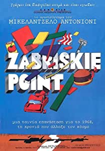 Zabriskie Point Affiche du film Poster Movie Zabriskie Point (11 x 17 In - 28cm x 44cm) Greek Style A