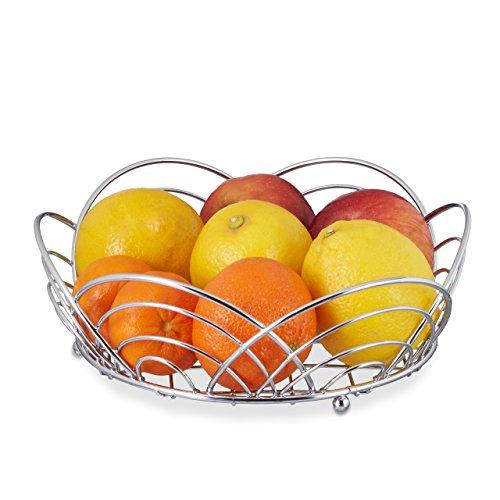 relaxdays-piccola-ciotola-per-frutta-cromato-cesto-per-la-frutta-pane-ciotola-autoportante-axlxp-85x
