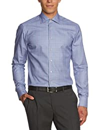RENÉ LEZARD Herren Businesshemd Slim Fit, kariert 36X601S5532860