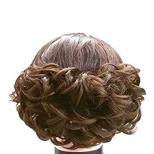 Babysbreath Lockiges Kunsthaar-Pferdeschwanz-Perücken synthetisches Haar bilden lockiges Haarteil (Haar Synthetische Lockige)