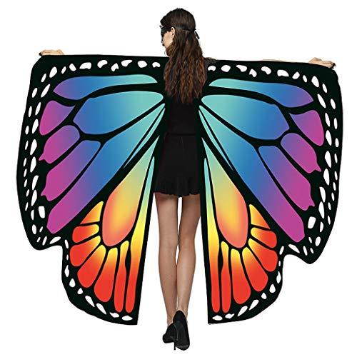 YAYAKI 2019 Karneval Kostüm, Heißer Verkauf Elegante Damen Butterfly Wings Schal Mantel Cape Zubehör für Cosplay Party/Kleid/Weihnachten
