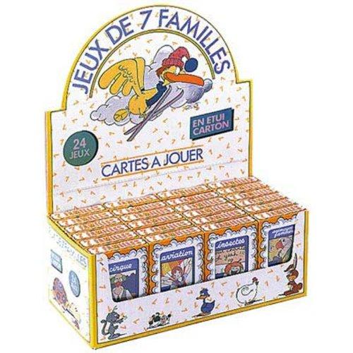 France Cartes - 402444 - Jeu de cartes - Jeu 7 Familles - Modèle aléatoire