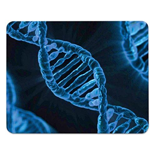 Preisvergleich Produktbild Addies Mousepad DNA Helix Micro-Biologie schönes Mauspad Motiv in feiner Cellophan Geschenk-Verpackung mit Kautschuk Untermaterial, 240x190mm
