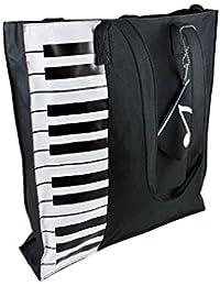 MyLifeUNIT - Bolsa de playa  Negro negro/blanco large