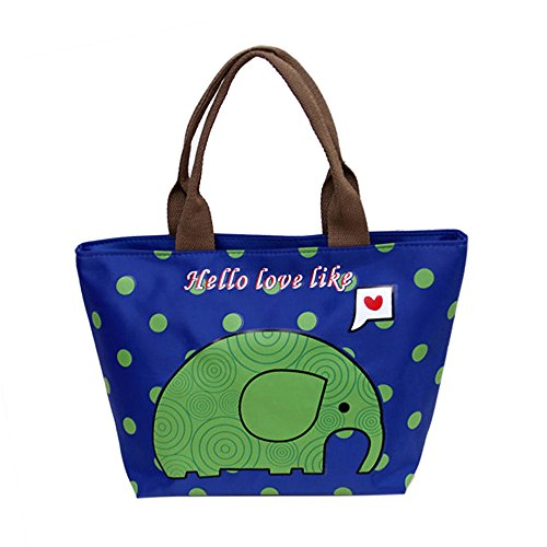 Dtuta Isolierung Tote Bag Canvas Lunch Bag Picknick Mittagessen Mehrzweck-Mehrzweck
