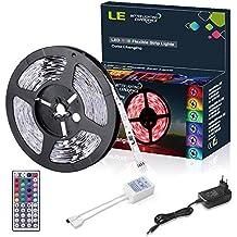 LE Striscia LED RGB 5m Multicolore, 150