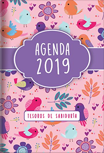 Tesoros de Sabiduría 2019 Agenda/ Treasures of Wisdom 2019 Agenda: Con un pensamiento motivador o un versículo de la Biblia para cada día del año/ ... or a Bible Verse for Each Day of the Year