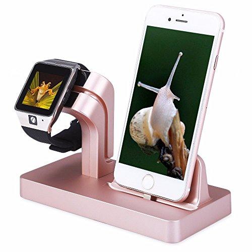 feeshow-apple-watch-stand-2-en-1-premium-aluminio-carga-muelle-estacion-stand-soporte-compatible-con