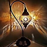 Turkish Lampe / Marokkanische Lampe Tiffany Stil Glas Schreibtisch Tisch Lampe - G21