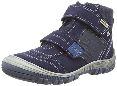 Richter Kinderschuhe Linz, Jungen Hohe Sneakers Blau (atlantic/ink  7201)