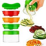 Spiralizer legume - Coupe legumes spaghetti spirale de légumes, Trancheuse...