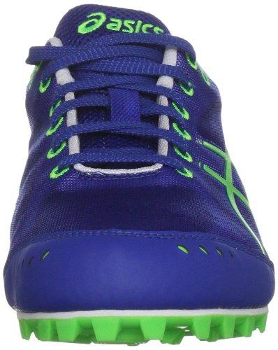 Asics Hyper Es, Scarpe da Corsa Bambino Blu  (Blue/Neon Green/White)