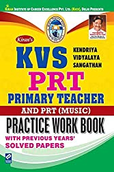 Kiran's KVS PRT Primary Teacher & PRT (Music) Practice Work Book English - 2336