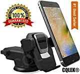 CQLEK® Car Mobile Phone Holder - Telescopic One Touch Long Neck Arm Adjustable